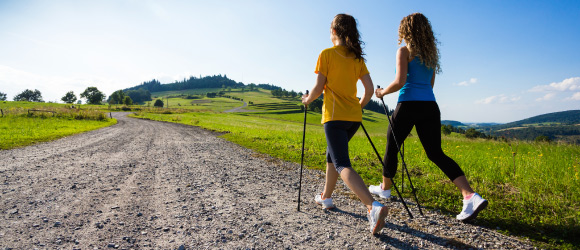 Get up and move: go on a walk with a co-worker or a loved one. You'll feel much better!